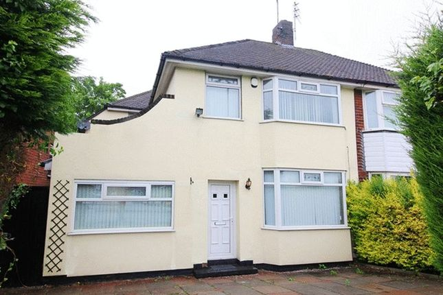 Thumbnail Semi-detached house for sale in Childwall Valley Road, Childwall, Liverpool
