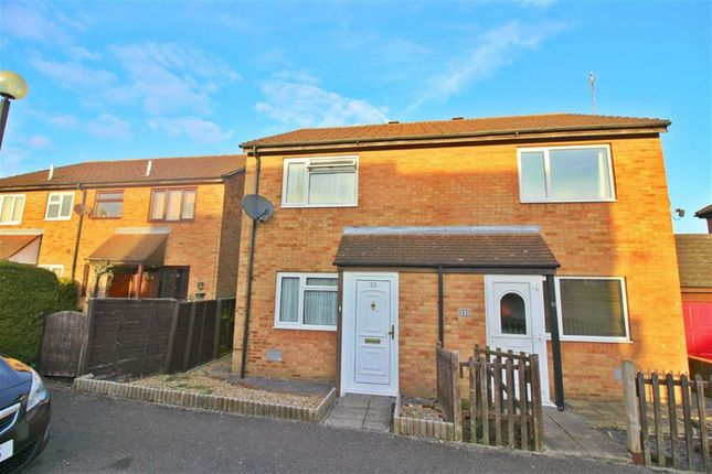 2 bed semi-detached house for sale in Downland, Two Mile Ash, Milton Keynes