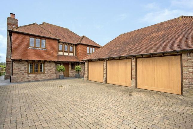 Thumbnail Detached house for sale in Back Lane, Cross In Hand, Heathfield, East Sussex