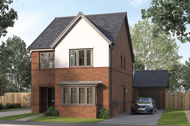 "4 bed detached house for sale in ""The Finsbury"" at William Nadin Way, Swadlincote DE11"