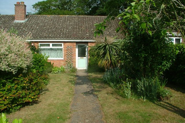 Thumbnail Terraced bungalow for sale in Francis Road, Long Stratton, Norwich