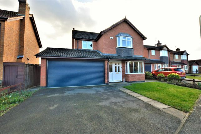 Thumbnail Detached house for sale in Dunlin Road, Essendine, Stamford