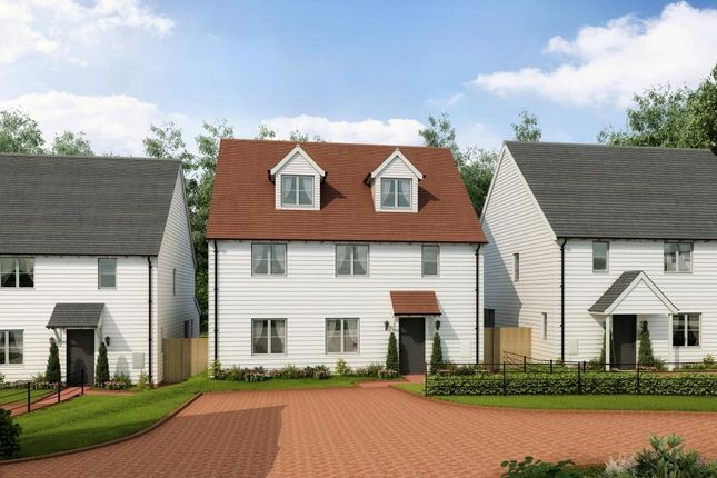 Thumbnail Detached house for sale in Stockwood Meadow, Staplecross, East Sussex
