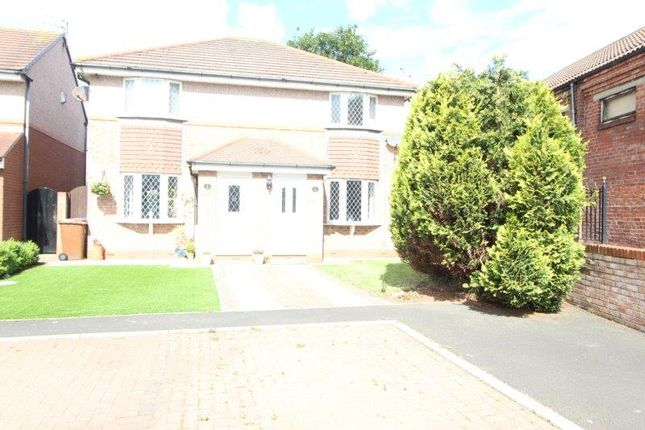 Thumbnail Semi-detached house to rent in Hedley Court, Blyth