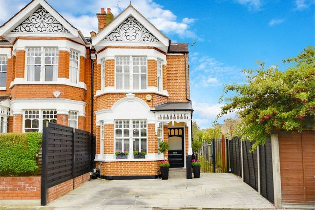 Thumbnail End terrace house for sale in Clyde Road, Alexandra Park, London