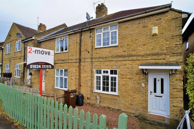 Thumbnail End terrace house to rent in Dongola Road, Rochester, Kent