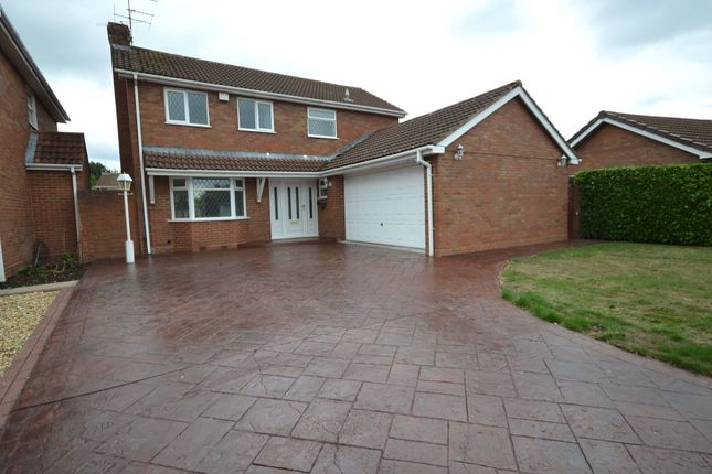Thumbnail Detached house to rent in Turnberry Close, Perton, Wolverhampton