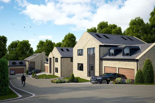 Thumbnail Detached house for sale in The Willows, 2 Lea Gardens, Leeds Road, Hipperholme