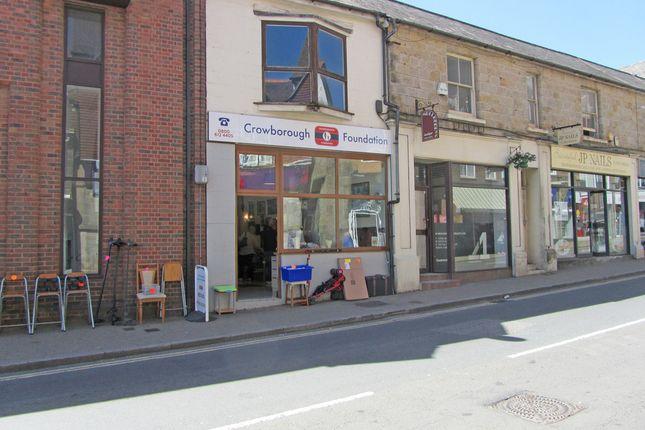 Thumbnail Retail premises for sale in 1A Belmont Buildings, High Street, Crowborough