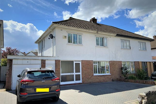 Thumbnail Semi-detached house for sale in Rookwood Close, Llandaff, Cardiff