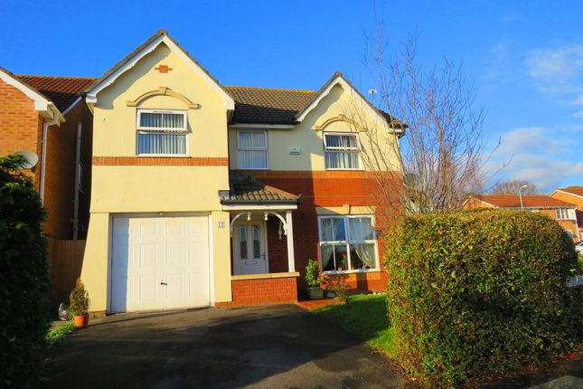 Thumbnail Detached house for sale in Llys Gwent, Barry