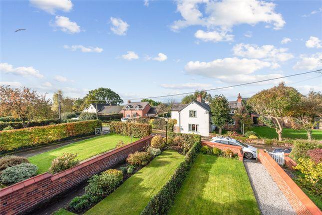 Front Garden of Stannage Cottages, Stannage Lane, Churton, Chester CH3