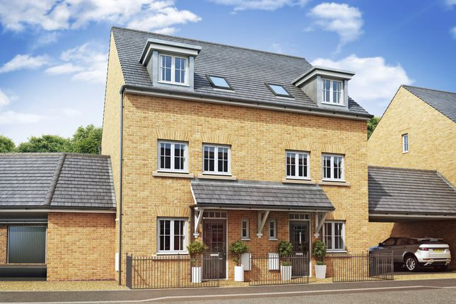 "Thumbnail Semi-detached house for sale in ""Padstow"" at Priorswood, Taunton"