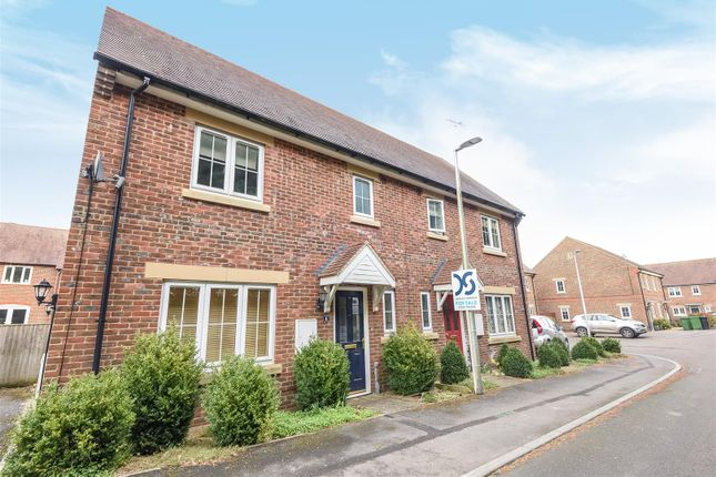 Thumbnail Semi-detached house for sale in Old Coach Works, Lambourn, Hungerford
