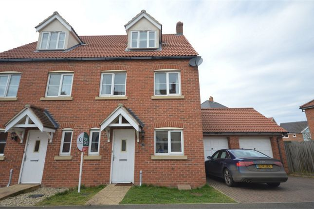 Thumbnail Semi-detached house for sale in Peregrine Mews, Cringleford, Norwich