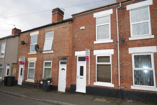 2 bed terraced house to rent in Darby Street, Derby DE23