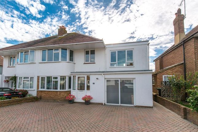 Thumbnail Semi-detached house for sale in Glebeside Avenue, Worthing, West Sussex