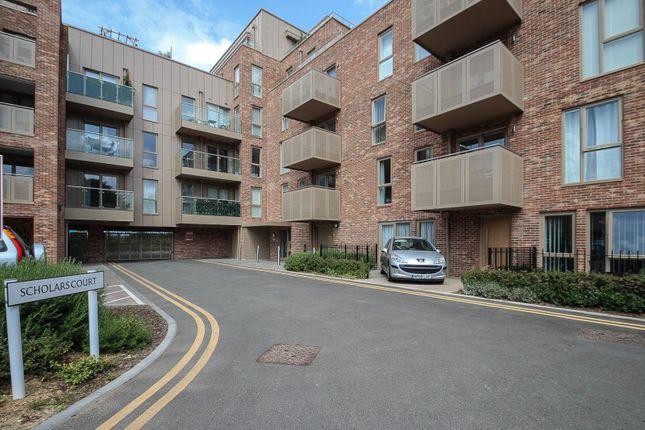 Thumbnail Flat to rent in Scholars Court, Harrison Drive, Cambridge
