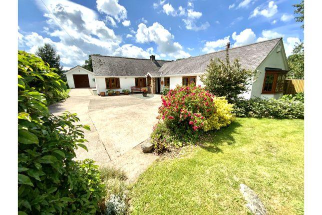 Thumbnail Detached bungalow for sale in Llanrhaeadr, Denbigh