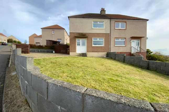 Thumbnail Semi-detached house for sale in Burns Terrace, Ardrossan