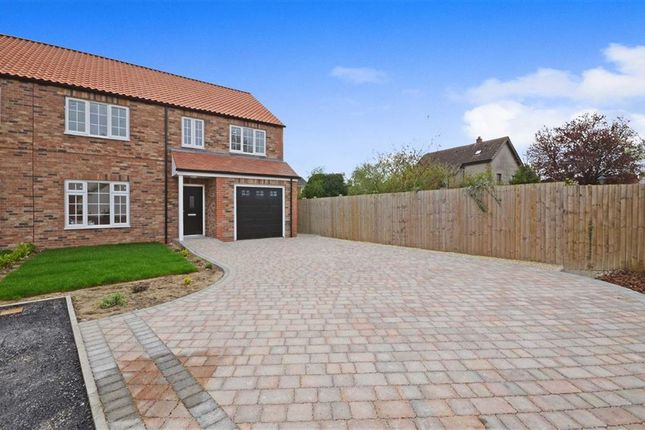 Thumbnail Semi-detached house for sale in Chapel Street, Hambleton, Selby