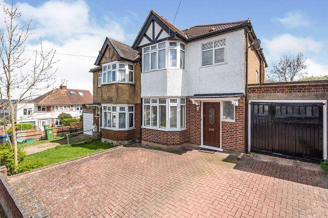 Thumbnail Semi-detached house for sale in Chumleigh Walk, Surbiton, Surrey