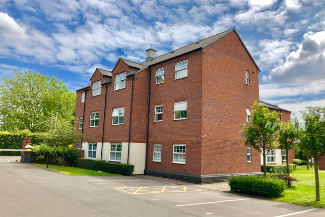 Thumbnail Flat for sale in Oakland Court, Moorgate, Tamworth
