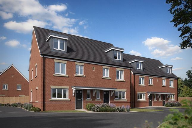 """Thumbnail Semi-detached house for sale in """"The Leicester """" at Brookers Hill, Shinfield, Reading"""