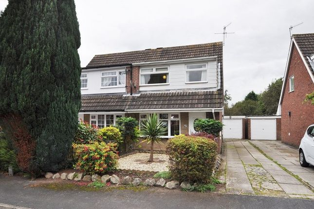 Thumbnail Semi-detached house for sale in Redcar Road, Trentham, Stoke-On-Trent