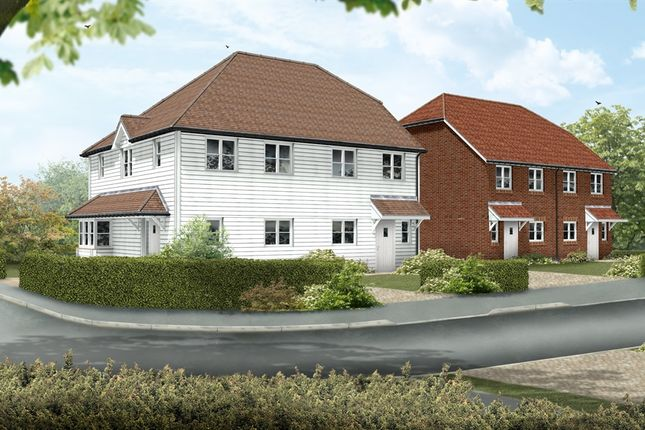 Thumbnail Semi-detached house for sale in Great Easthall Way, Sittingbourne