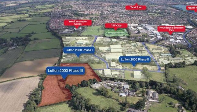 Land to let in George Smith Way, Lufton Trading Estate, Lufton, Yeovil