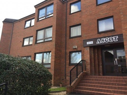 Thumbnail Flat to rent in Ascot Court, Glasgow