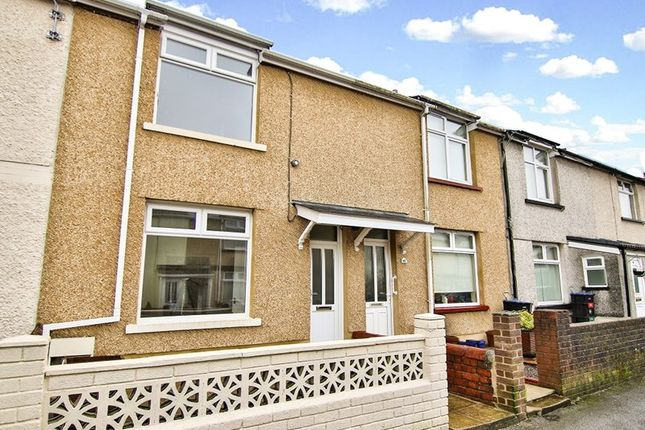 Thumbnail Terraced house for sale in Letchworth Road, Willow Town, Ebbw Vale