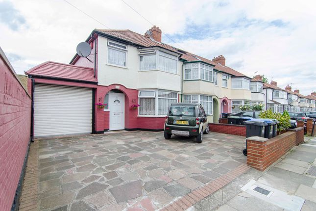 Thumbnail End terrace house for sale in Woodstock Crescent, London