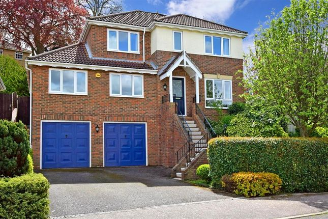 Thumbnail Detached house for sale in Fay Close, Rochester, Kent