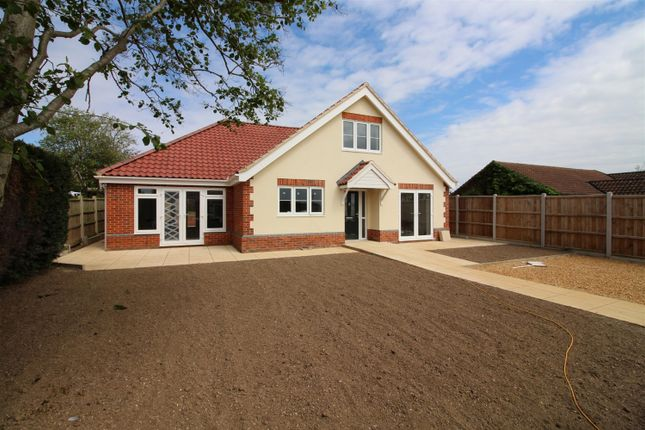 Thumbnail Detached house for sale in Blofield Corner Road, Little Plumstead, Norwich