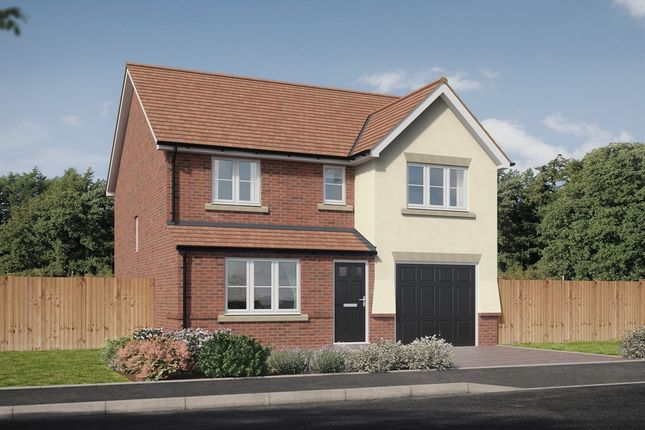 "4 bedroom detached house for sale in ""The Longthorpe "" at Brookers Hill, Shinfield, Reading"