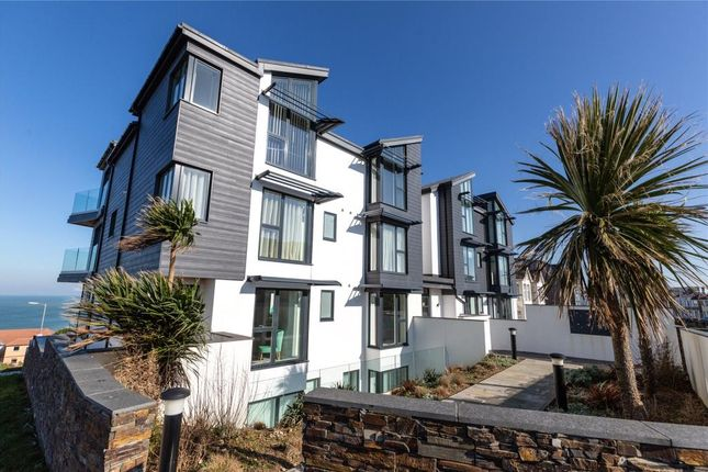 Thumbnail Flat for sale in Seascape, Pentire Avenue, Newquay, Cornwall