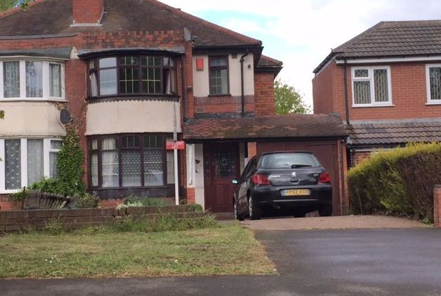 Thumbnail Semi-detached house to rent in Cliveden Avenue, Perry Barr, Birmingham