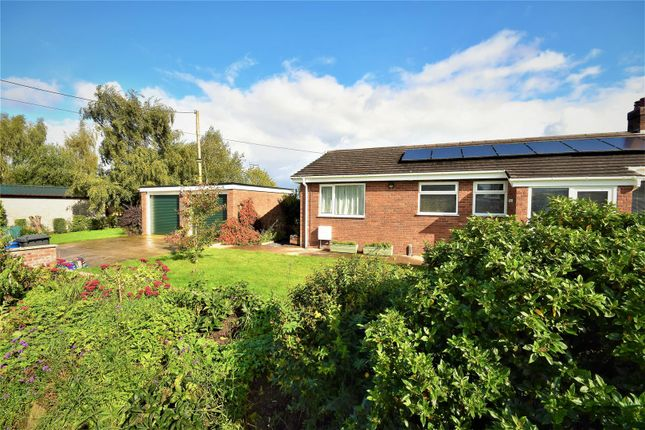 Thumbnail Detached bungalow for sale in Rossett Road, Commonwood, Holt, Wrexham