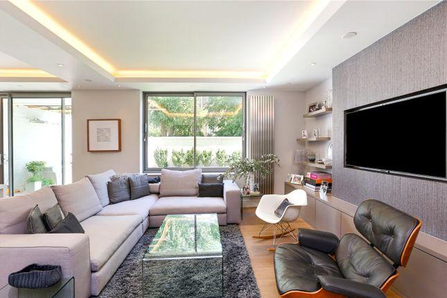 Reception Room of Gabrielle Court, 1-3 Lancaster Grove, Belsize Park, London NW3