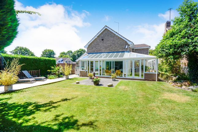 Thumbnail Detached house for sale in South Lodge Court, Old Road, Chesterfield