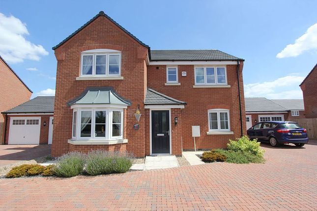 Thumbnail Detached house for sale in Simpson Road, Stoney Stanton, Leicester, Leicestershire