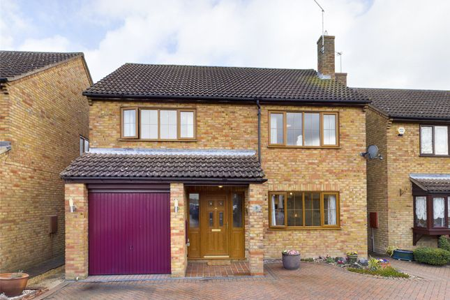 Thumbnail Detached house for sale in Mortlock Close, Melbourn, Royston