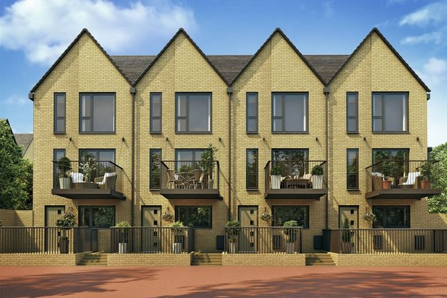 """End terrace house for sale in """"The Greyfriars"""" at Quayside, Chatham Maritime, Chatham"""