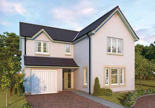Thumbnail Detached house for sale in Plot 186, Ostlers Way, Kirkcaldy, Fife