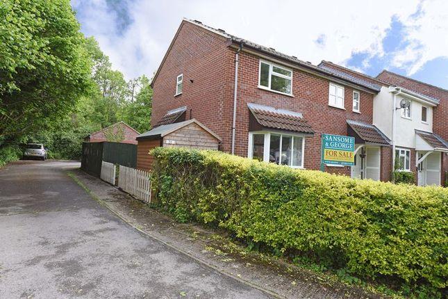 Thumbnail End terrace house for sale in Sandford Close, Kingsclere, Newbury