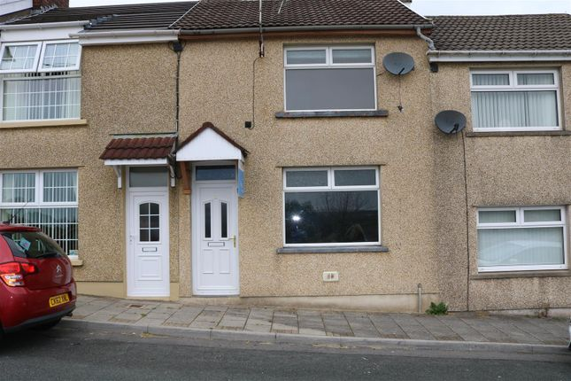 Thumbnail Terraced house for sale in St. Annes Crescent, Gilfach, Bargoed