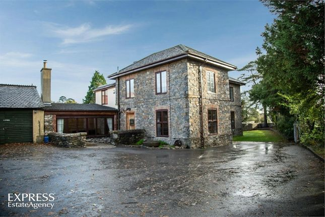 Thumbnail Detached house for sale in Ashburton Road, Newton Abbot, Devon