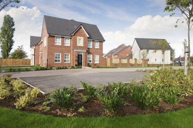 "Thumbnail Semi-detached house for sale in ""Morpeth II"" at Kepple Lane, Garstang, Preston"